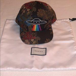 Gucci floral cap
